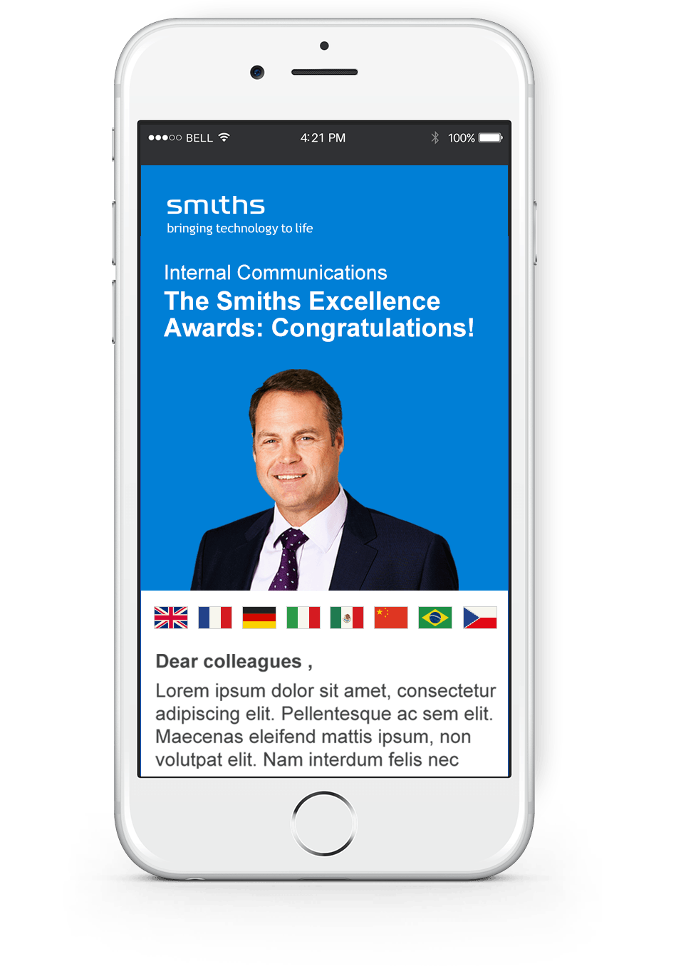 Smiths Group PLC Mobile